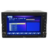 Tview D62TSB Double DIN 6.2 Inch Wide Motorized Touch Screen Head Unit & Media Receiver