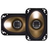 Polk Audio DB461 4 x 6 inch Coaxial - 2 way Car Speakers