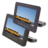 Quality Mobile Video DVD9000PKG Universal Attachable DVD Headrest System - Slave and Master screen