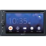 "Sony XAV-AX210SXM 6.4"" Double DIN DVD Receiver with Apple Carplay, Android Auto and free SiriusXM satellite radio tuner"