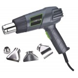 Genesis GHG1500A Dual Temperature Heat Gun Kit with Four Metal Nozzle Attachments