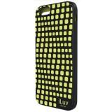 """iLuv ILVAI6AURWBK iPhone 6 4.7"""" Aurora Wave Case - Black"""