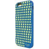 "iLuv ILVAI6AURWBL iPhone 6 4.7"" Aurora Wave Case - Blue"
