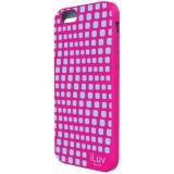 """iLuv ILVAI6AURWPN iPhone 6 4.7"""" Aurora Wave Case - Pink"""