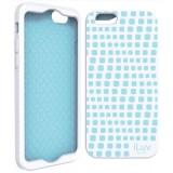 """iLuv ILVAI6AURWWH iPhone 6 4.7"""" Aurora Wave Case - White"""