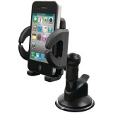 iLuv ICC790BLK Universal Windshield Smartphone Mount Kit