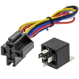 "Install Bay IBR30 30A/40A Relay and Socket with 12"" Harness"