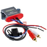 The Install Bay IBR64 Universal Hardwired Waterproof Bluetooth Receiver for Streaming Audio