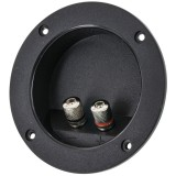 TCRB Circular Recessed Terminal Cup with Silver 5-Way Binding Posts - Main