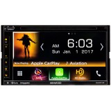 "Kenwood DNX574S Double DIN 6.8"" In-Dash Bluetooth Navigation Receiver - Main"