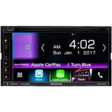 "Kenwood DNX575S Double DIN 6.8"" In-Dash DVD/CD/AM/FM Receiver with GPS, Bluetooth, Built-in HD Radio, Apple CarPlay and Android Auto"