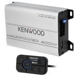 Kenwood KAC-M1824BT Bluetooth Class-D Compact 4 Channel Class-D Marine Power Amplifier - Main