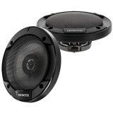 """Kenwood KFC-1666S 60W 6.5"""" 2-Way Sport Series Flush Mount Coaxial Speakers with Paper Tweeters for Car -"""
