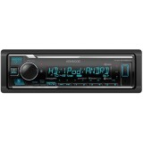 Kenwood KMM-BT525HD Single DIN Digital Media Car Stereo Receiver with Bluetooth and HD-Radio