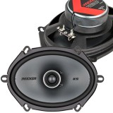 Kicker 41KSC684 KS Series 6x8 inch 2-Way Coaxial Car Speakers - Main