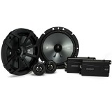 Kicker CS Series 46CSS674 300 watts 6.75 inch 2-Way Component Car Speaker System