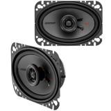 Kicker 44KSC4604 KS Series 4x6 inch 2-Way Coaxial Car Speakers