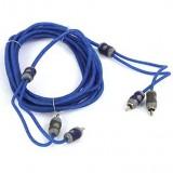 Kicker KI24 K-Series 4-Meter RCA Cables