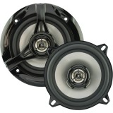 """Discontinued - Power Acoustik KP-52N KP Series 5.25"""" 2-Way Speakers - 180-Watts, 13 ounce Magnet With 1"""" Voice Coil"""