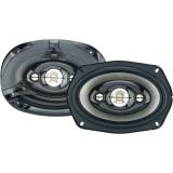 Discontinued - Power Acoustik KP-694N KP Series 300-Watt 6x9 Inch 4-Way Speakers