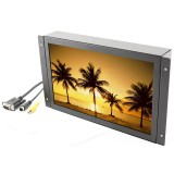 Accelevision LCDMC102W 10.2 inch Wide screen metal housed LCD monitor - VGA and Composite video input