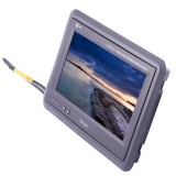 """Zycom by Accelevision ZH70WLS 7"""" headrest monitor with mounting stand"""