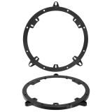 """Metra 82-9102 6"""" - 6-3/4"""" Front Speaker plates for 1996 - 2001 Audi A4 Vehicles"""