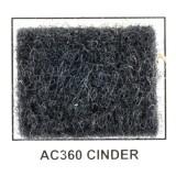 "Metra AC360-5 40"" Wide x 5 Yard Long Acoustic Carpet - Cinder"