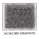 "Metra AC363-5 40"" Wide x 5 Yard Long Acoustic Carpet - Medium Graphite"