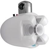 """Boss Audio MRWT8W 8"""" 700-Watt 2-Way Marine Wake Tower Speaker White"""