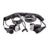 Safesight SC1201 Trailer Cable 7 Pin Trailer Kit for Heavy Duty Trucks and Commercial Vehicles