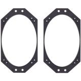 Metra 82-1011 4 x 6 inch Car speaker plates for Jeep wrangler - Main
