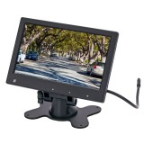 "Accelevision LCDP7HDMI 7"" TFT LCD monitor with HDMI input - Front right of monitor"