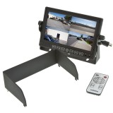 Boyo VTM7012MQ 7 Inch LCD Quad Monitor - Sun shade and remote control