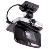 Boyo VTR-B7HD Car Dashboard Camera - GPS sensor and mount installed