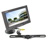 Pyle PLCM7500 7 inch back up camera system with license plate camera