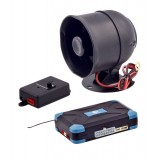 Gryphon Mobile GS-700A 2 Way AM Car Security Alarm System with 2 LCD 4 Button Remote Control Transmitters