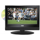 """NAXA NTD1354 13.3"""" Widescreen LED HDTV with Built-In Digital TV Tuner and DVD Player"""