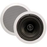 """ArchiTech AP-801 8"""" 2-Way In-Ceiling Speaker - Speaker pair"""
