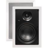 """ArchiTech AP-802 8"""" 2-Way In-Wall Speaker - Speaker pair"""