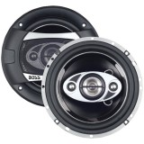 Boss Audio P65.4C Phantom Series Speakers with Electroplate Injection Cone 6.5""