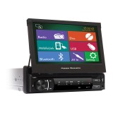 "Power Acoustik PD-720HB Single Din Mobile Multimedia Source with 7"" LCD Touch Screen for Vehicles"
