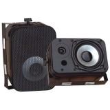 """PYLE PDWR40B 5.25"""" Indoor/Outdoor Waterproof Speakers Black"""