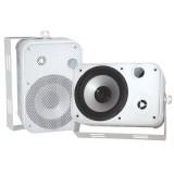 """PYLE PDWR50W 6.5"""" Indoor/Outdoor Waterproof Speakers White"""