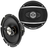 "Pioneer TS-A1680F 6-1/2"" 4-Way Coaxial Speakers"