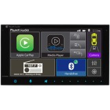 "Planet Audio PCP9800 Double DIN Digital Media Receiver with 6.75"" Touchscreen Display and Apple Carplay"