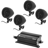 Planet Audio PMC4B Motorcycle/ATV Sound System with Bluetooth Audio Streaming