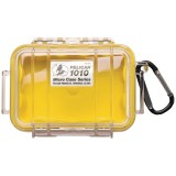 Pelican 1010-027-100 Micro Case Raven with Lid Organizer Yellow