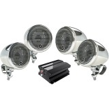 Planet Audio PMC4C Motorcycle/ATV Sound System with Bluetooth Audio Streaming