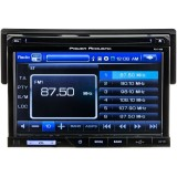 "Power Acoustik PD-710B 7"" Single-DIN In-Dash TFT/LCD Touchscreen Receiver with DVD, Detachable Face with Bluetooth - Main"